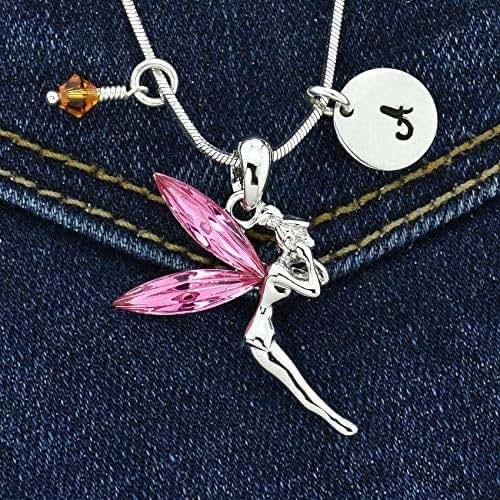 Sparkling Crystal Block Ring Chandelier: Amazon.com: Tinkerbell Fairy Custom Pendant Sparkling Pink