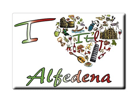 Enjoymagnets ALFEDENA Souvenir IMANES DE Nevera Abruzzo IMAN ...