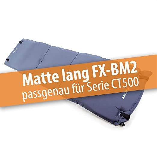 Colchon hinchable FX-BM2 de Fuxtec con respaldo acolchado para ...