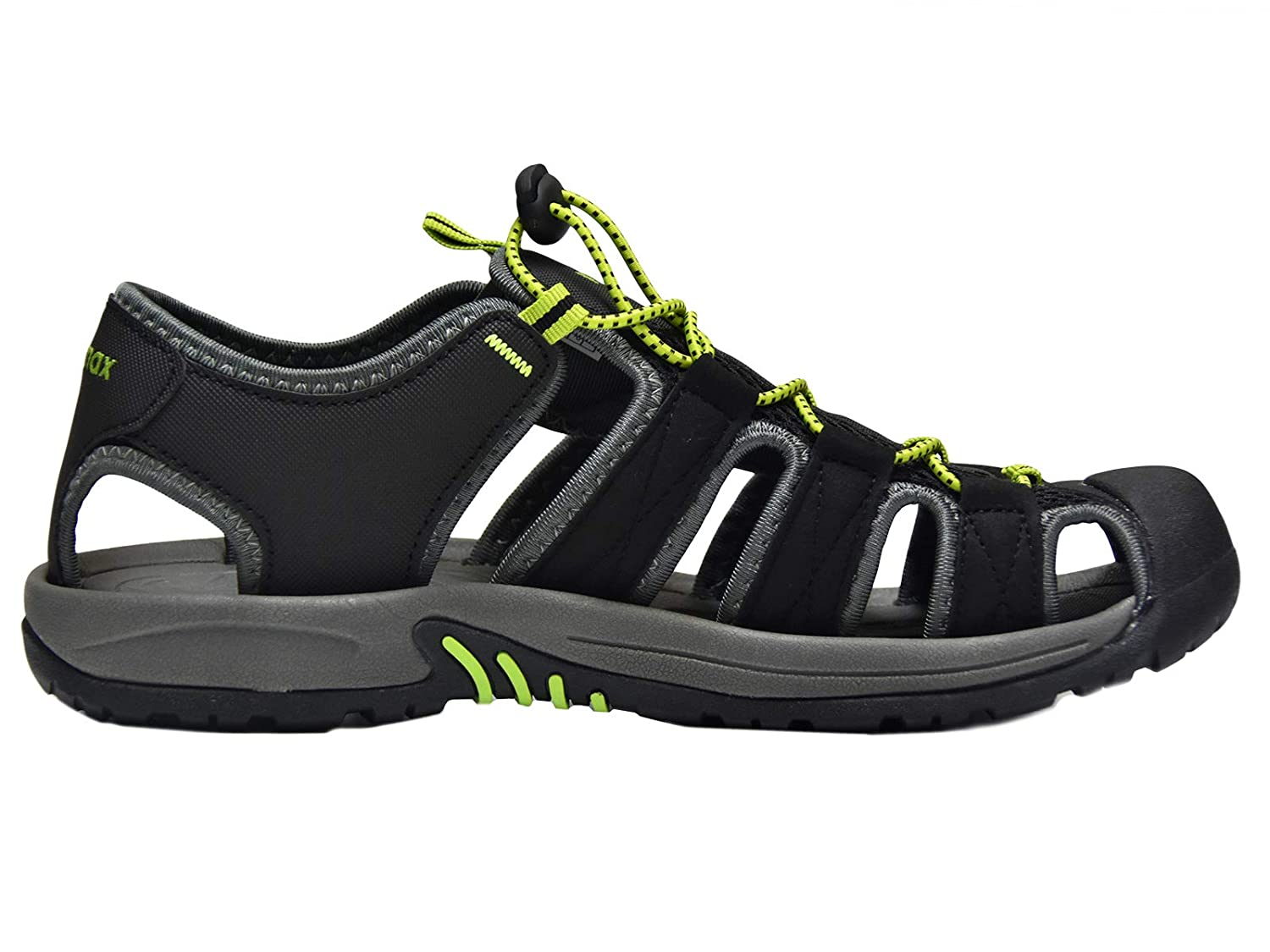 Knixmax Mens Womens Closed Toe Sandals Sports Summer Shoes for Outdoor Beach