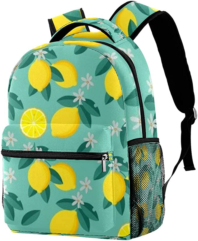 Countryside Landscape Background With Trees Unisex Casual Backpack School Bag Travel Daypack Gift