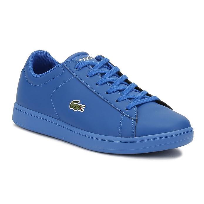 Lacoste Junior Blu Carnaby EVO 317 5 Sneaker-UK 2 Descuento Para Barato Envío Libre Populares La Mejor Venta Libre Del Envío 2018 Más Reciente A La Venta La Mejor Tienda A Comprar 0vhe7z