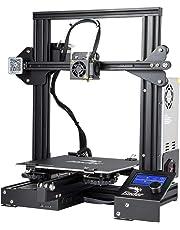 Comgrow Creality 3D Ender 3 Impresora 3D Aluminum DIY with Resume Print 220 * 220 * 250mm