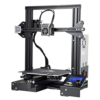 picture relating to Ender 3 Printable Upgrades titled 3D Bazaar Creality Ender 3 3D Printer Aluminium Do-it-yourself with Resume Print