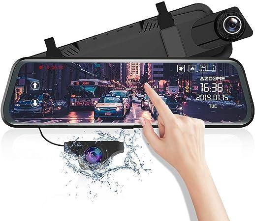 Azdome Mirror Dash Cam With Reversing Camera Parking Elektronik