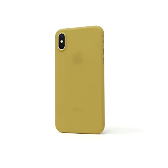 quality design b7721 83532 Casedodo Air Ultra Thin Matte Finish Back Plain Case Cover for Apple iPhone  X (Mimosa)