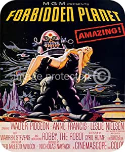 Vintage Science Fiction Movie Forbidden Planet MOUSE PAD