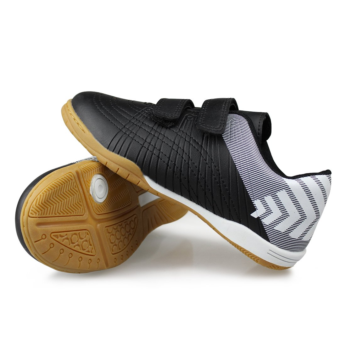 989568b8d6a7 Hawkwell Athletic Outdoor//Indoor Comfortable Soccer Shoes/(Toddler//Little  Kid