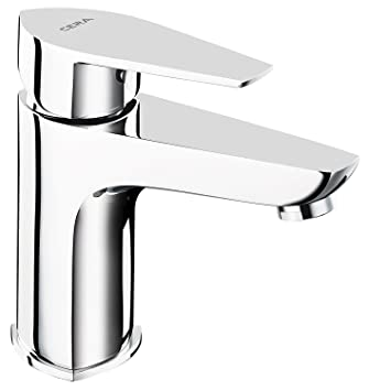 Buy Cera Valentina F1013451 Brass Single Lever Basin Mixer (Silver) Online  at Low Prices in India - Amazon.in