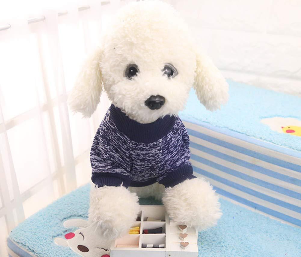 warme Hunde Pullover Katze Kleidung Fleece Haustier Mantel f/ür Welpen Smoro Haustier Hund Katze Pullover