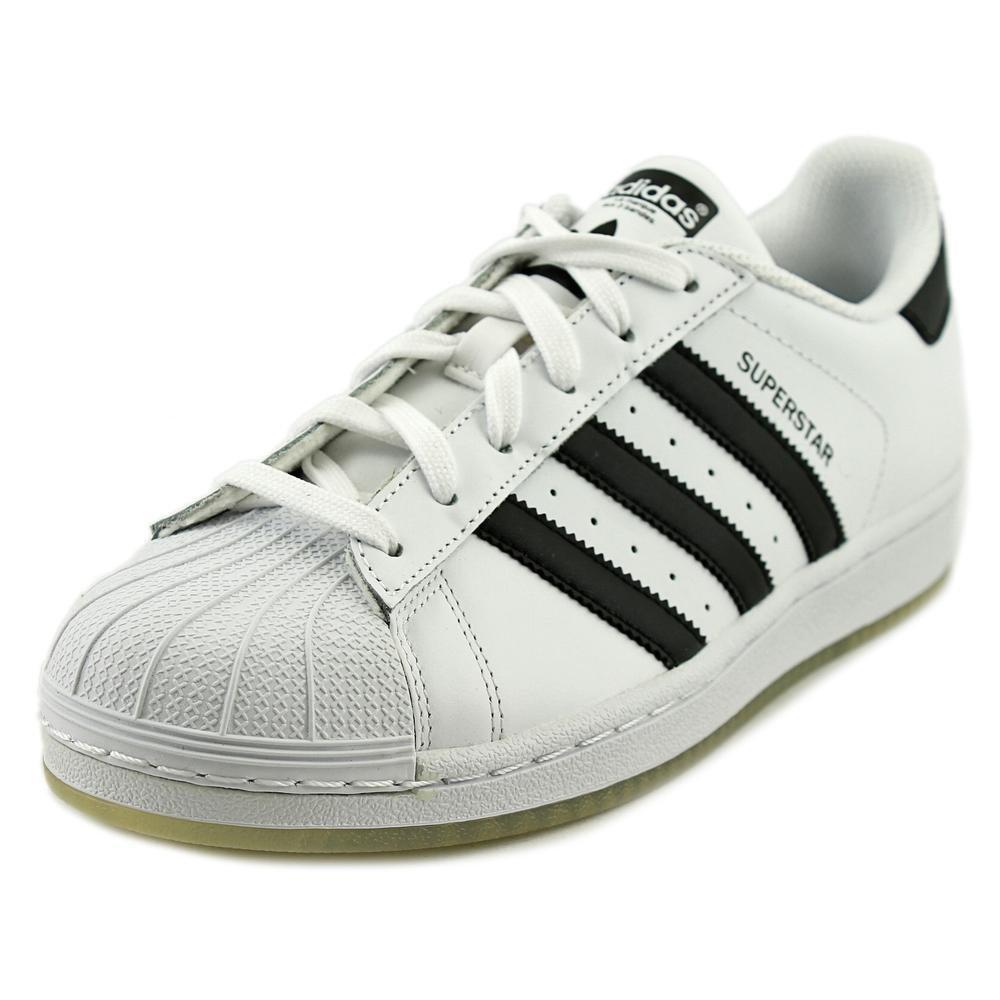 adidas Kids Superstar J Originals White/Black/White Basketball Shoe 6.5 Kids US by adidas Originals