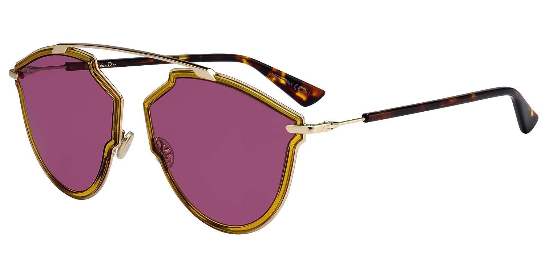 Dior Gafas de Sol SO REAL RISE YELLOW/VIOLET unisex: Amazon ...