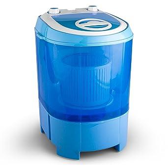 Carte Bleue Lave Linge.Oneconcept Sg003 Portable Charge Superieure 2 8kg Bleu Machine A