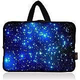 AUPET Starry Sky Universal 7~8 inch Tablet Portable Neoprene Zipper Carrying Sleeve Case Bag