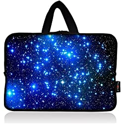 AUPET Starry Sky Universal 7 ~ 8 inch Tablet Portable Neoprene Zipper Carrying Sleeve Case Bag