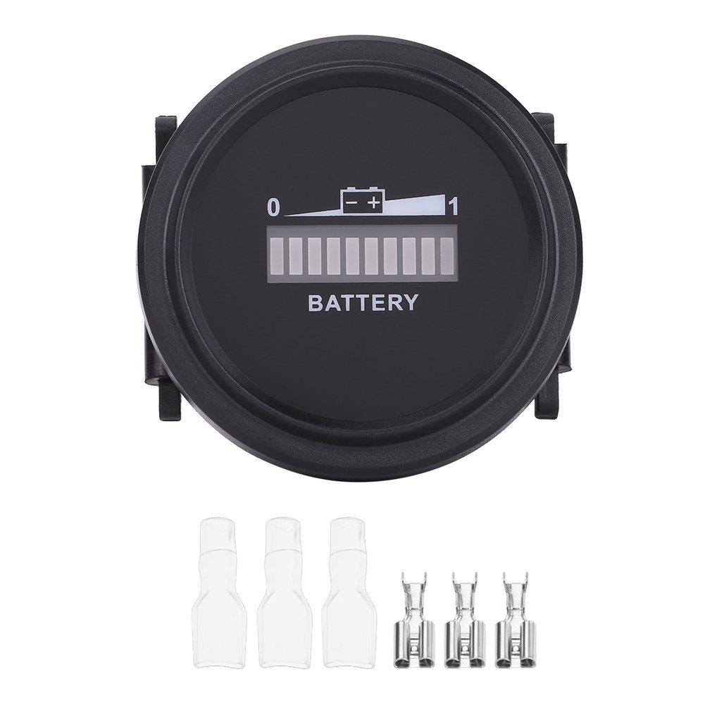 72V Indicatore di batteria Indicatore di livello IP65 Indicatore di stato della batteria Led Tester 36V EBTOOLS Indicatore di batteria digitale a LED 48V 24V 12V
