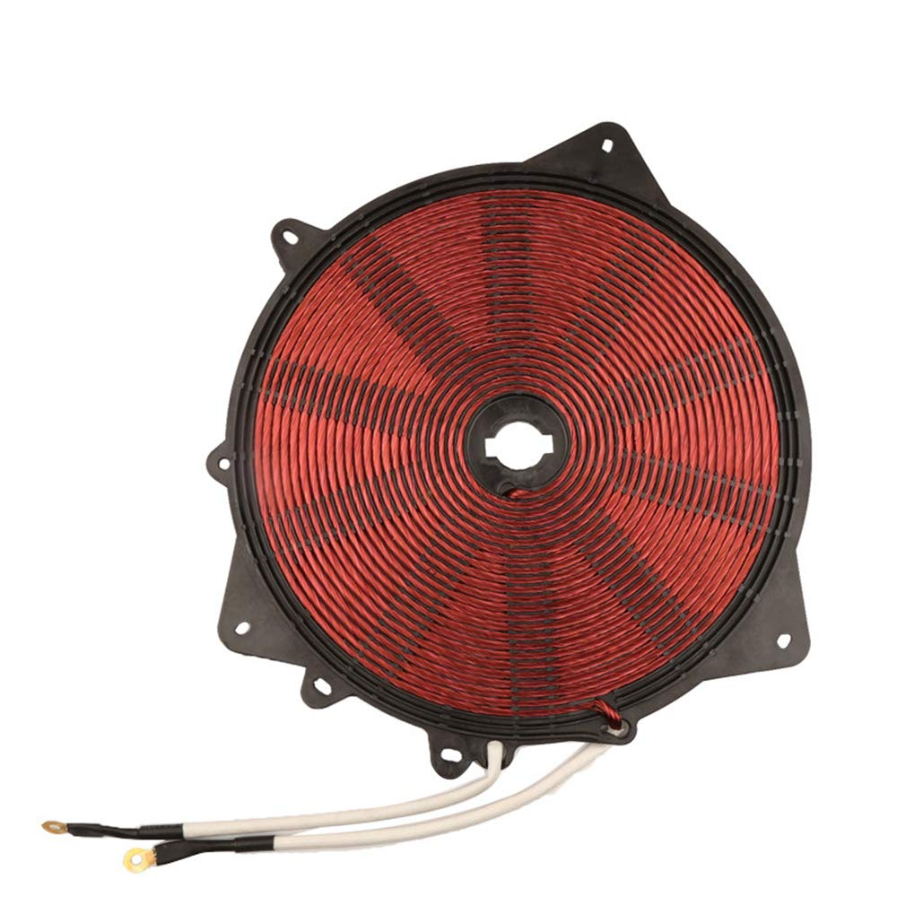 3000W 220V Heat Coil 235mm with Enamelled Aluminium Wire Induction Heating Panel Induction Cooker Accessory