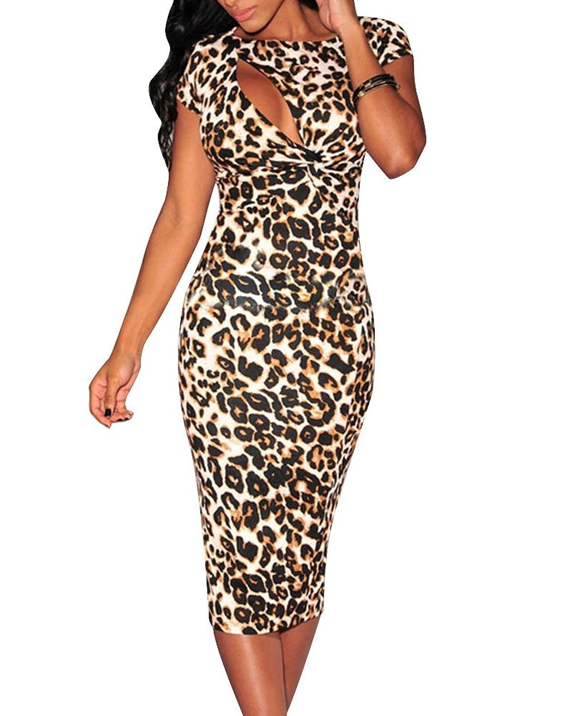 ac586fc5780d Top 10 wholesale Midi Leopard Print Dress - Chinabrands.com