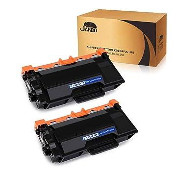 JARBO TN-880 TN880 Toner, for Brother TN-850 TN850 TN-820 TN820, 2 Black, Use with Brother HL-L6200DW L5200DW L5100DN L6300DW MFC-L5900DW L5700DW ...