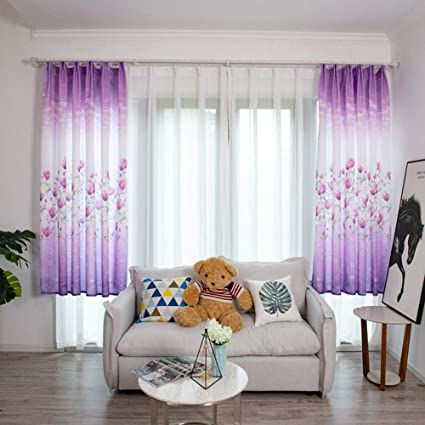 Homeofying Gardine für Wohnzimmer, Kinderzimmer, 100 x 200 ...