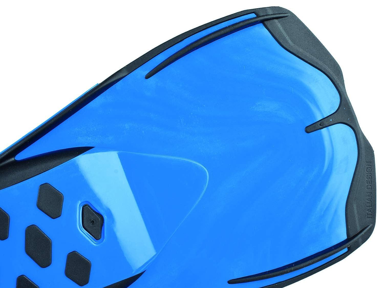 Erwachsene Vela kurze Flossen zum Schwimmen im Schwimmbecken oder im Meer 34-35 Seac Unisex/ blau