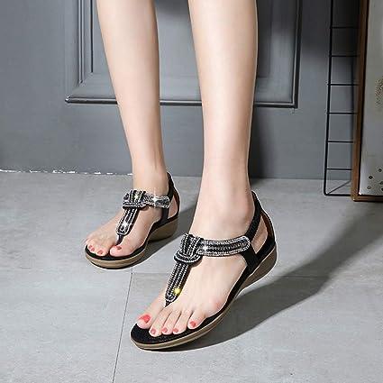 5d821d82f9e Amazon.com  Clearance!Women Large Size Flat Sandals