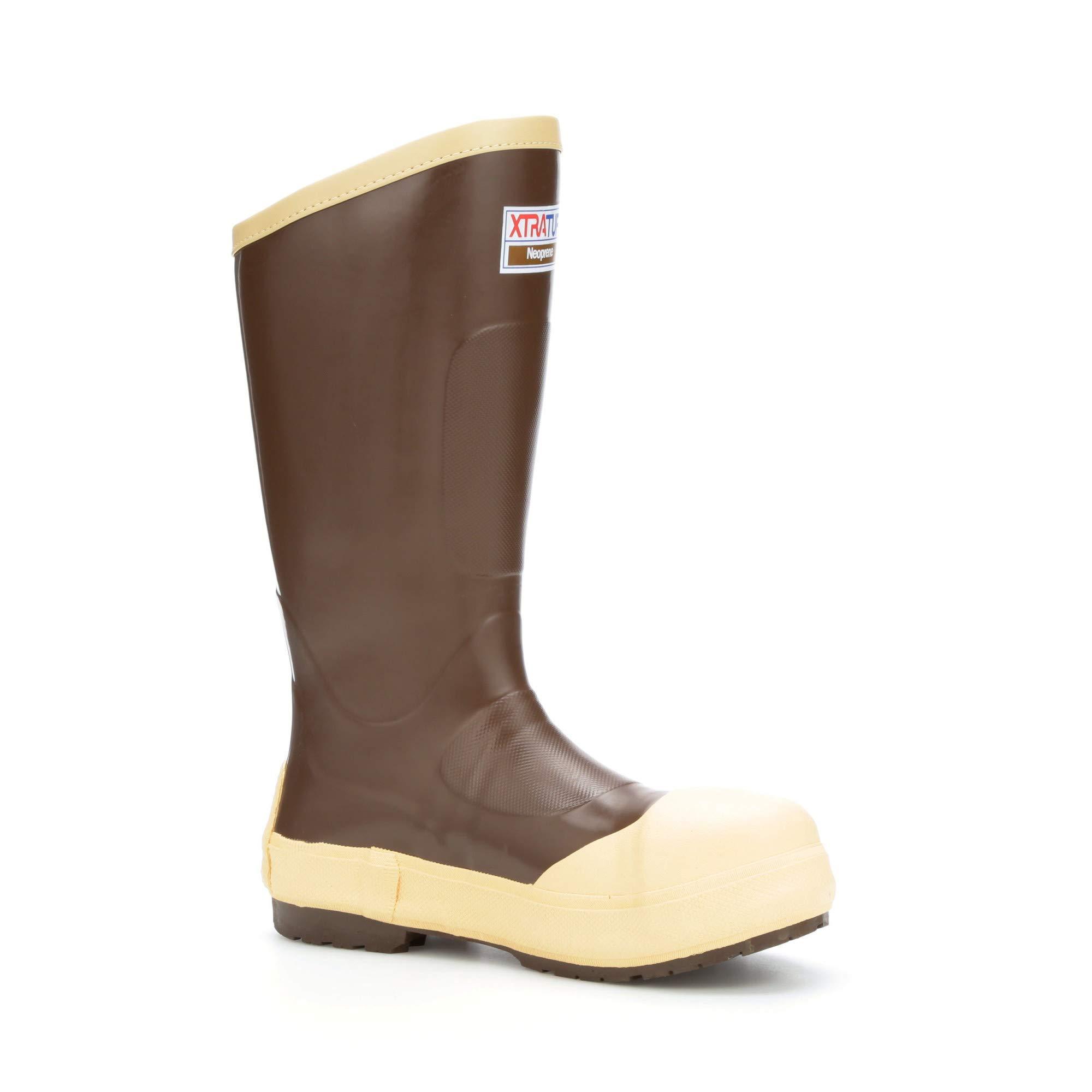 XTRATUF Legacy 2.0 Series 15'' Neoprene Composite Toe Men's Fishing Boots, Copper & Tan (22292G) by Xtratuf (Image #1)