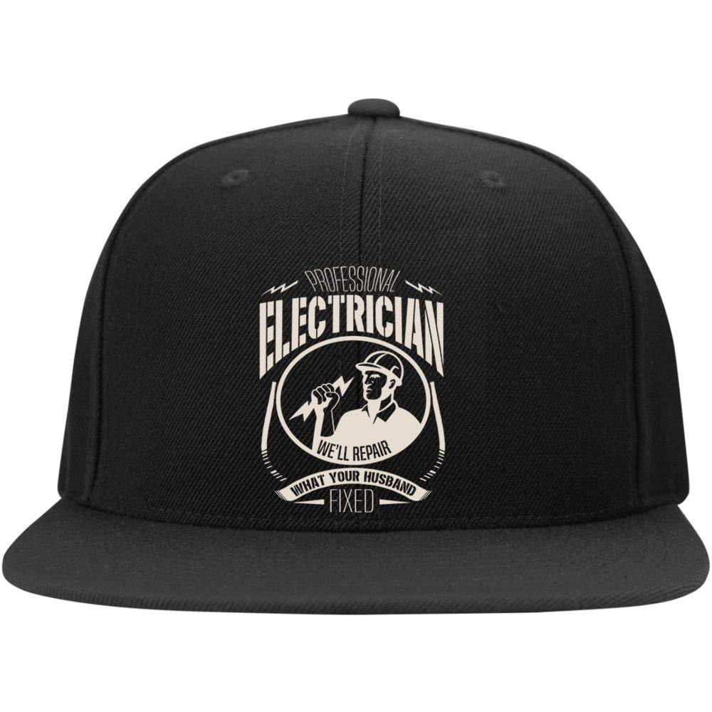 FLOSTORE Professional Electrician Cap Well Repair Profile Snapback Hat