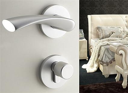 ZYPMM puertas de los dormitorios cerradura de la puerta de aluminio espacio minimalista de estilo europeo