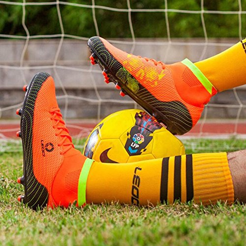 Shoes Children's Men Slip Lawn Anti Boots Boy's Boots E Shoes HUAN Shoes Training Shake Football Football Anti Teenagers Unisex Soccer Outdoor ZIdwnvfqB