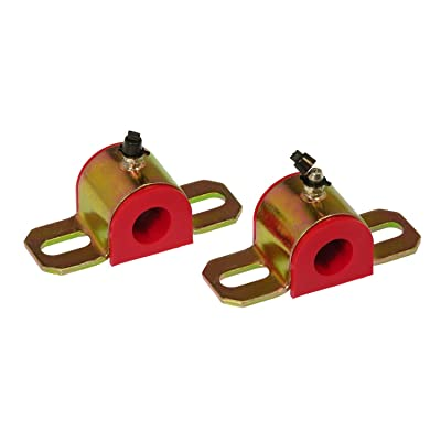 Prothane 19-1186 Red 30 mm Universal Greasable Sway Bar Bushing fits B Style Bracket: Automotive