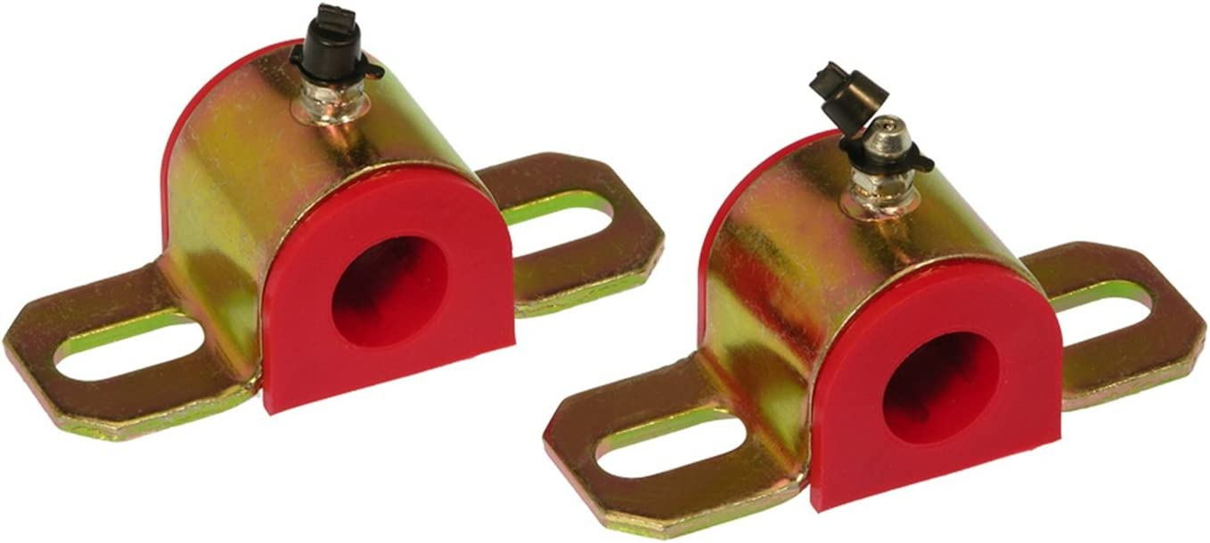 Prothane 19-1181 Red 25 mm Universal Greasable Sway Bar Bushing fits B Style Bracket