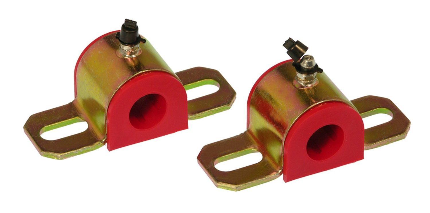 Prothane 19-1186 Red 30 mm Universal Greasable Sway Bar Bushing fits B Style Bracket by Prothane