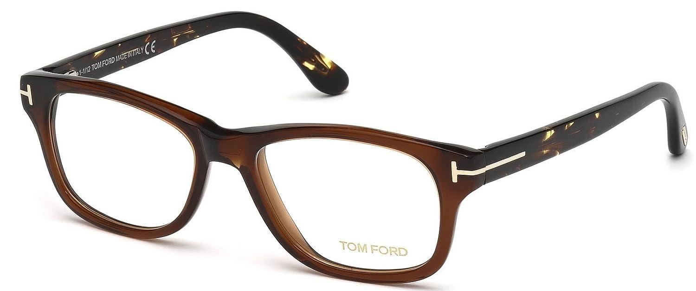 32dc9da31f7 Amazon.com  Tom Ford 5147 Eyeglasses Color 050 Size 52-17  Clothing