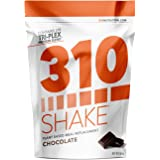 Chocolate Meal Replacement | 310 Shake Protein Powder is Gluten and Dairy free, Soy Protein and Sugar Free | Includes Free Recipe eBook | 28 Servings