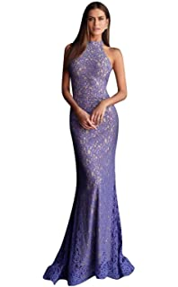 90aa97f1f8a Jovani - 64521 Lace Off-Shoulder Mermaid Dress with Train at Amazon ...