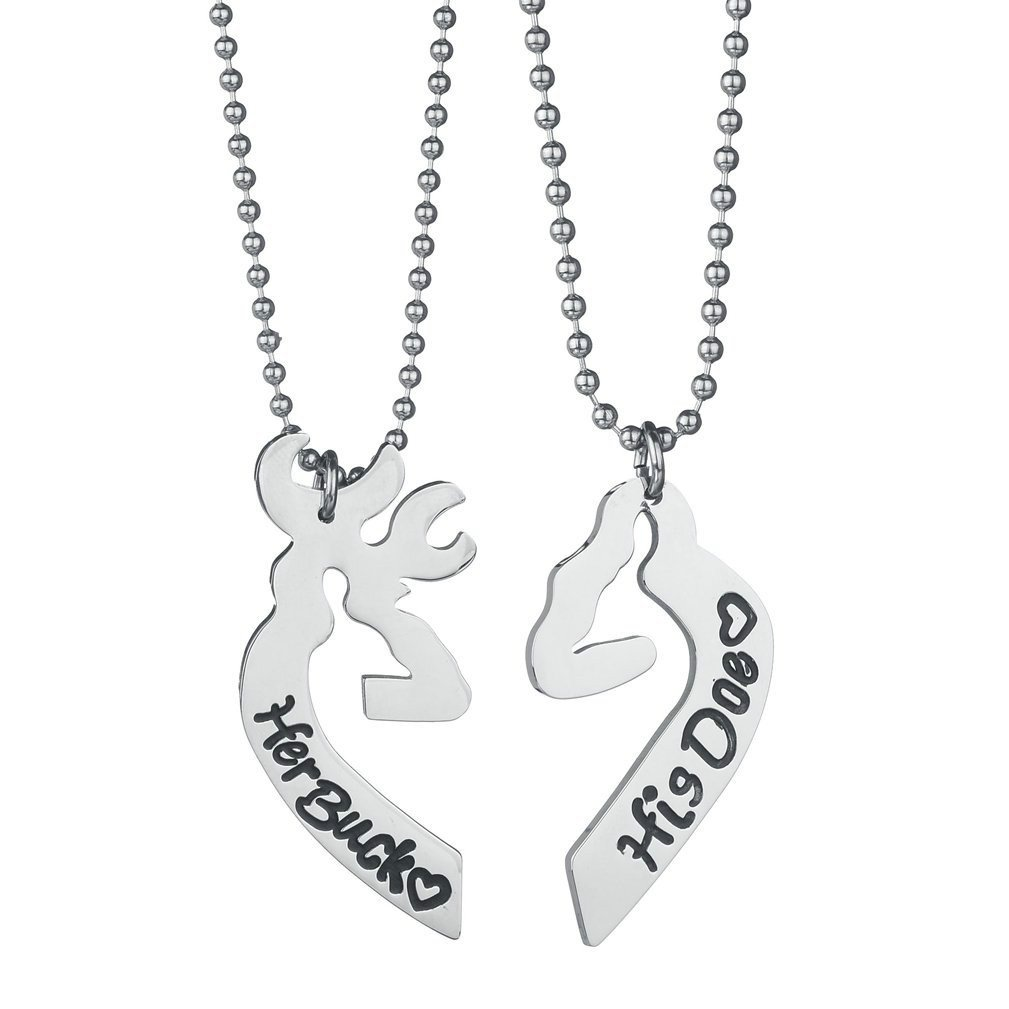 stainless fashion set wholesale pendant jewelry necklace steel jc couple