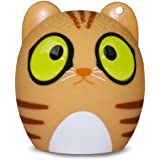 My Audio Pet Gen 1 Mini Bluetooth Animal Wireless Speaker with Powerful Rich Room-filling Sound - 3W audio driver - Remote Selfie Function - for iPhone/iPad/iPod/Samsung/HTC/Tablets - CLASSICAL CAT