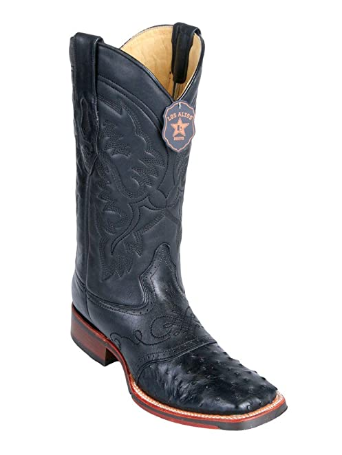 Men's 7 Toe Genuine Leather RAGE Design Western Boots - Exotic Skin Boots