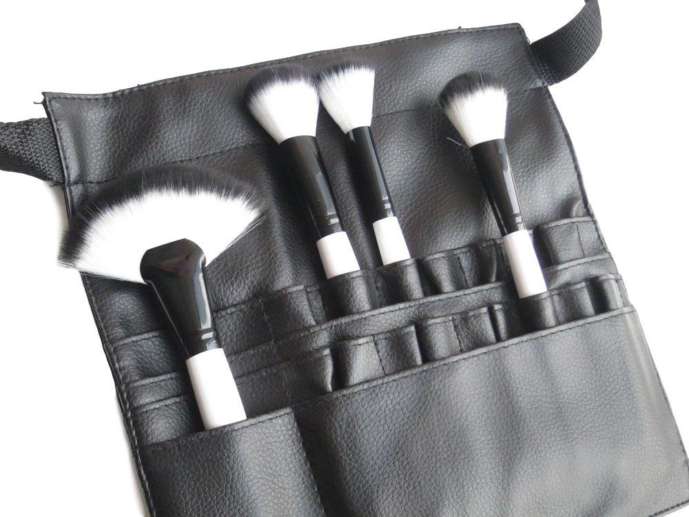 22 Poches PVC Pochette de pinceaux Maquillage Cosmétique Professionnelle Tablier Sac à Ceinture pour Artiste Groupcow