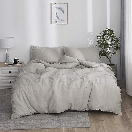 Simple Opulence 100 Stone Washed Linen Basic Style Fashion Quilt