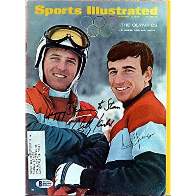 5a8ebd50505 Billy Kidd and Jimmy Huega Signed Sports Illustrated Magazine To Stan -  Beckett Authenticated