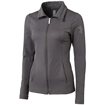 under armour jackets women s. under armour women\u0027s perfect team jacket (charcoal, small) jackets women s b
