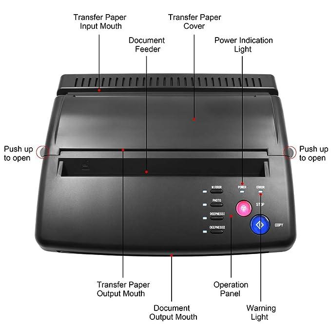 Máquina de transferencia de tatuajes BIOMASER® Tattoo Printer ...