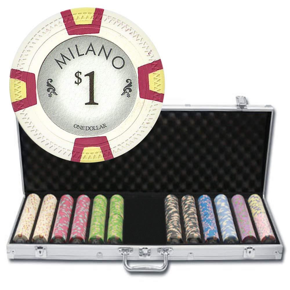 最終決算 600 600 CtミラノPoker CtミラノPoker Chipセットby Claysmithゲームinアルミニウムケース B005R4ZV9O B005R4ZV9O, フジオカシ:aa68a8bf --- arianechie.dominiotemporario.com