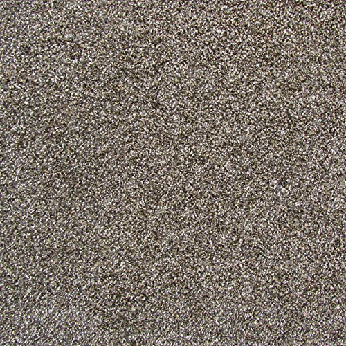 All American Carpet Tiles Wellington 23.5 x 23.5 Plush Easy to Install Do It Yourself Peel and Stick Carpet Tile Squares - 9 Tiles Per Carton - 34.52 Square Feet Per Carton (Mink) (Carpet Tiles Peel And Stick)