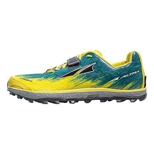 6d8999e00aa Altra Men King Mt 1.5 Men Running Shoes Trail Running Shoe Petrol - Yellow  7