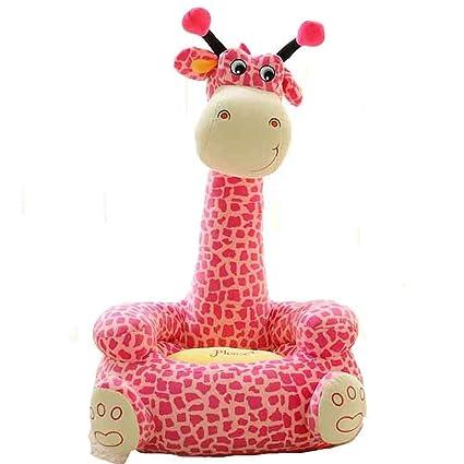 Cravog Canape Pouf Pour Siege Bebe Dessin Anime Kawaii Mignon Girafe