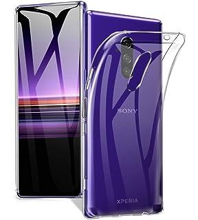 Amazon.com: Spigen Liquid Crystal Designed for Sony Xperia 1 ...