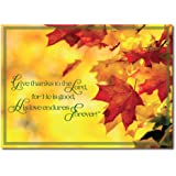Amazon thanksgiving greeting card th1202 wish a happy christian thanksgiving card th1611 the message throughout gives thanks for the season and honors god m4hsunfo